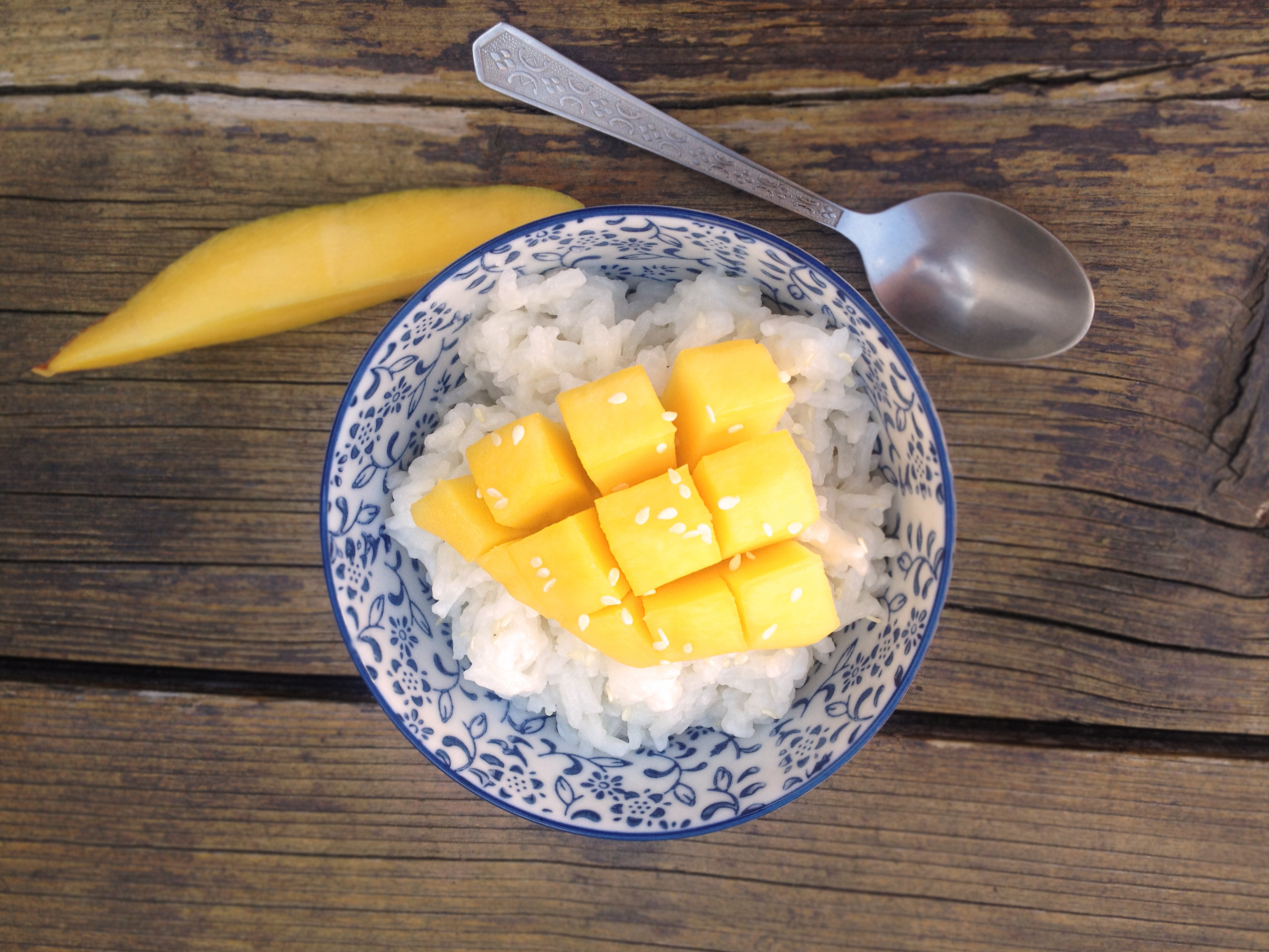 RECIPE - Thai mango sticky rice - L'ESSENCES
